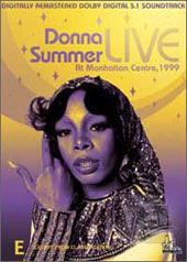 Donna Summer - Live At Manhattan Centre, 1999 on DVD
