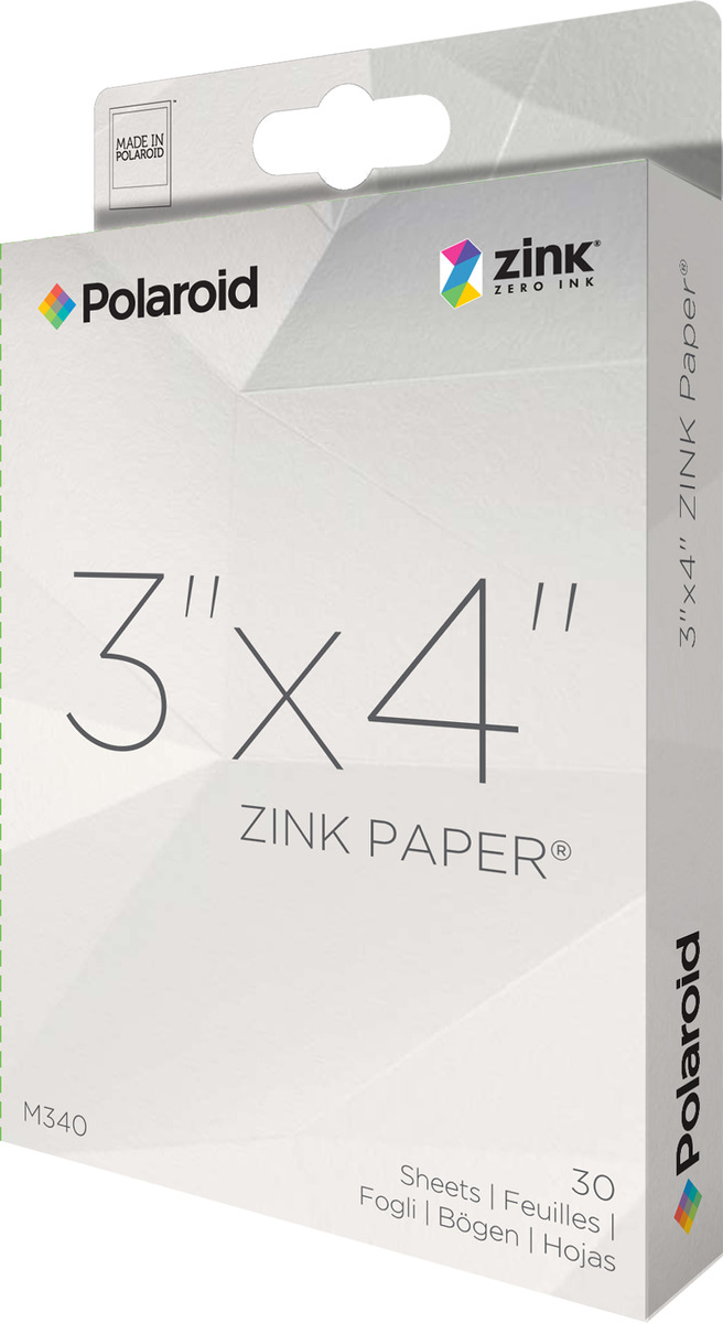 Polaroid ZINK Photo Paper 3x10 Pack 30 prints image