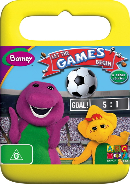 Barney - Let The Games Begin And Other Stories on DVD