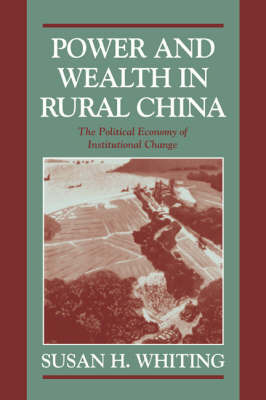 Cambridge Modern China Series by Susan H. Whiting