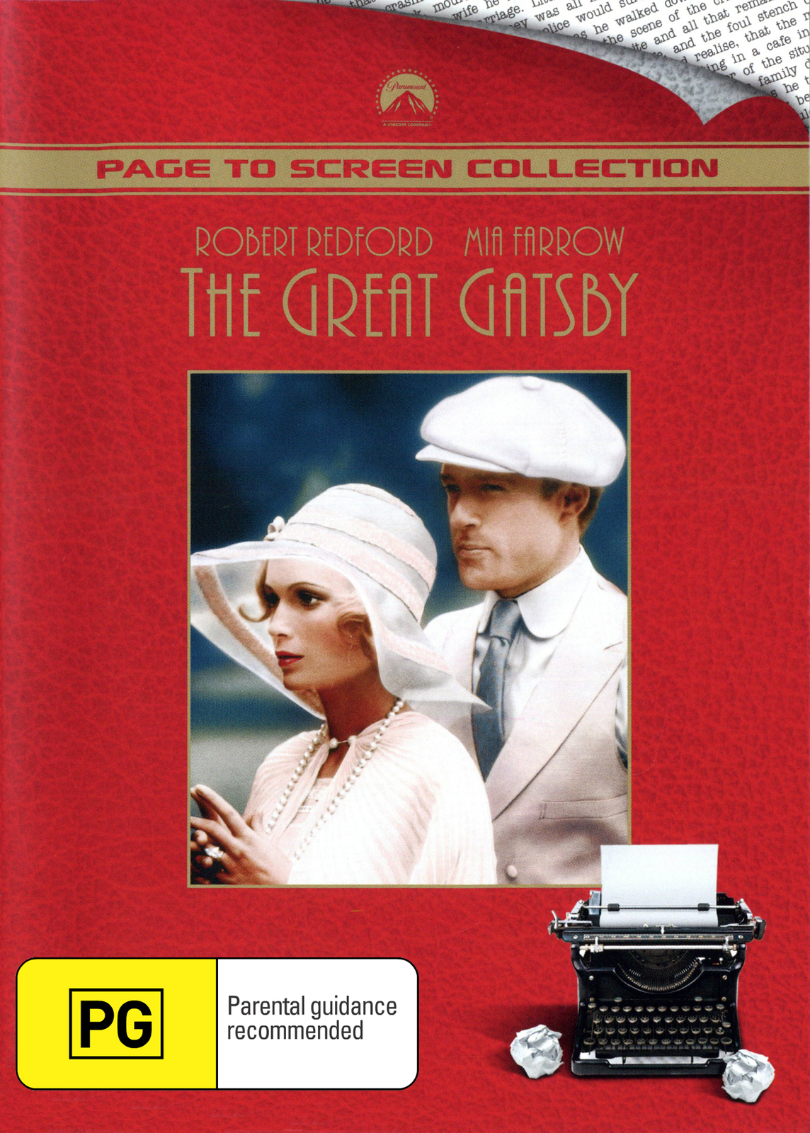 The Great Gatsby on DVD image