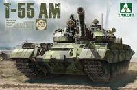 Takom 1/35 T-55 AM Russian Medium Tank Model Kit