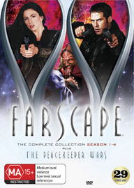 Farscape - The Complete Series DVD Collection (inc. Peacekeeper Wars) on DVD image