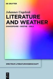 Literature and Weather by Johannes Ungelenk