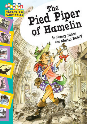 Hopscotch: Fairy Tales: The Pied Piper Of Hamelin by Penny Dolan image