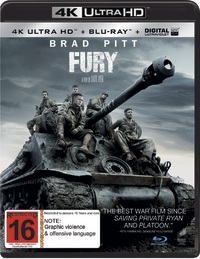 Fury on UHD Blu-ray