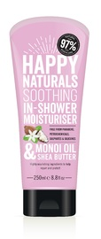 Happy Naturals Monoi Oil & Shea Butter Soothing In-Shower Moisturiser (250ml)