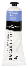 Atelier: Interactive Artists' Acrylic Paint - Pacific Blue (80ml)