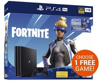 PlayStation 4 PRO 1TB Console - Fortnite for PS4