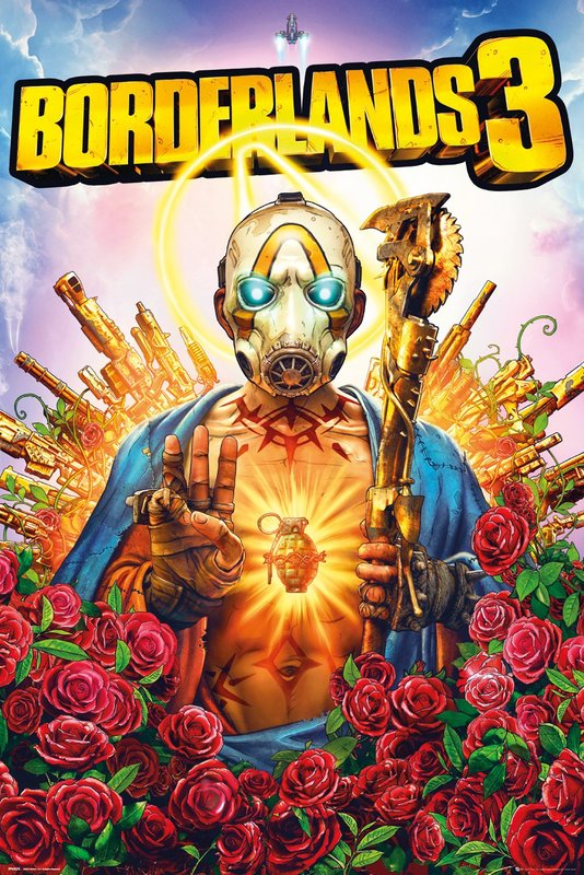 Borderlands 3: Maxi Poster - Cover (1021)