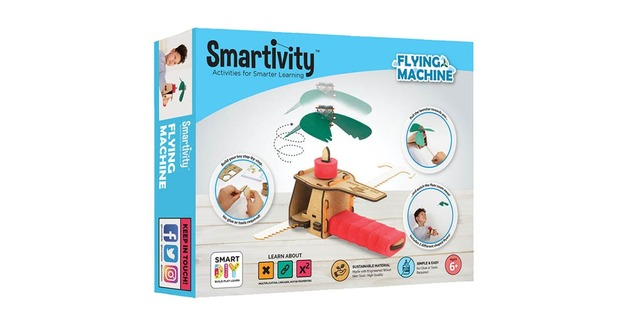 Smartivity: Gear Propeller Flying Machine