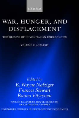 War, Hunger, and Displacement: Volume 1 image