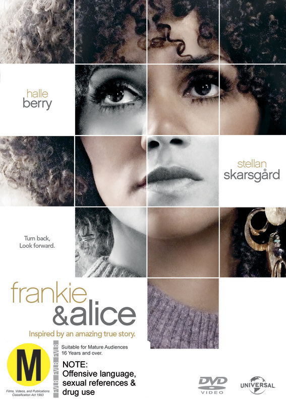frankie and alice Frankie and alice on dvd august 12, 2014 starring stellan skarsgard, phylicia rashad, chandra wilson, alex diakun frankie & alice is inspired by the remarkable true story of an african american go-go dancer frankie with dissociative identity disorder.
