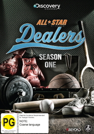 All-Star Dealers Season 1 on DVD