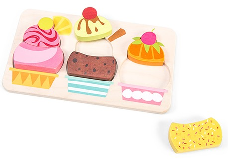Le Toy Van: Petilou - Cherry Sundae Puzzle image