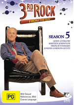 3rd Rock From The Sun Season 5 (3 Disc) on DVD
