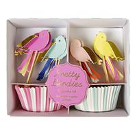 Meri Meri - Pretty Birdies Cup Cake Kit (24 Pack)