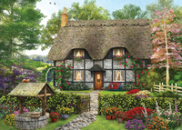 Holdson: 1000pce Picture Perfect Puzzle (Meadow Cottage)