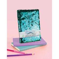 NPW: Mermazing Scaly Reversible Sequin Notebook