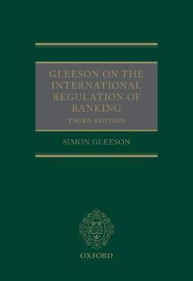 Gleeson on the International Regulation of Banking by Simon Gleeson image