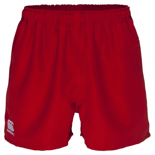 Professional Polyester Short Junior - Red (8YR)