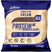 Justine's Protein Brownies - Double Choc Dream (Box of 12) image
