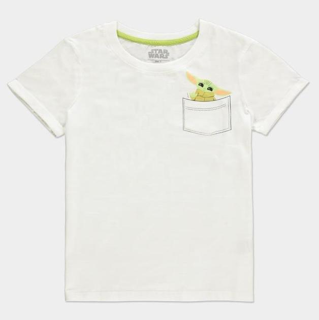 Star Wars: The Mandalorian - Pocket Child - Womans T-Shirt (Size: L)