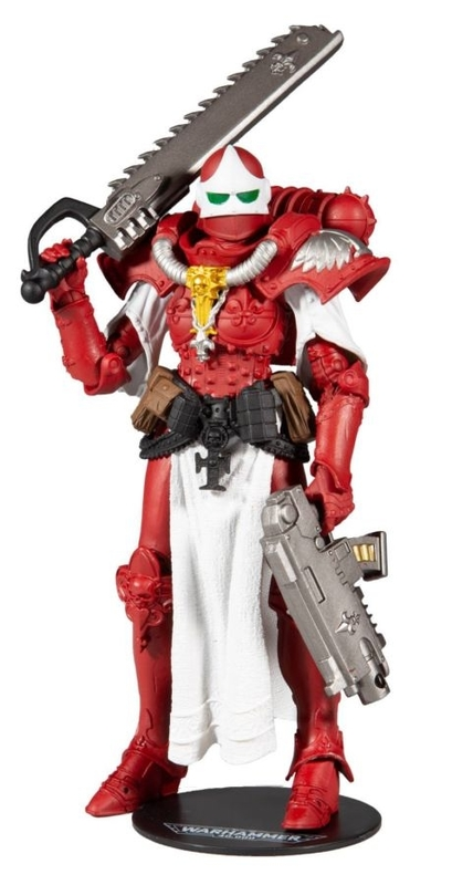 "Warhammer 40k: Adepta Sororitas Battle Sister (Order of The Bloody Rose) - 7"" Action Figure"