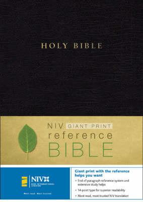 NIV Giant Print Reference Bible image