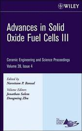 Advances in Solid Oxide Fuel Cells III by Jonathan Salem image