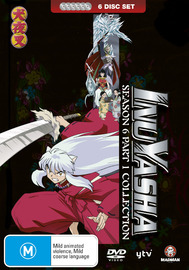 InuYasha - Season 6 Collection: Part 1 (6 Disc Fatpack) on DVD