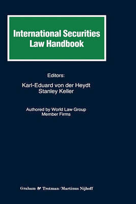 International Securities Law Handbook by Karl-Eduard Von Der Heydt