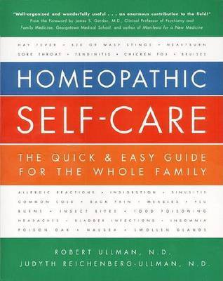 Homeopathic Self-care by Robert Ullman