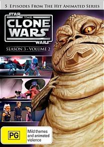 Star Wars: The Clone Wars - Season 3 Volume 2 on DVD