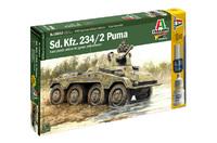 Italeri 1:56 Sd.Kfz 234/2 Puma (Warlord Games)