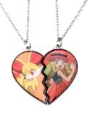 Pokemon Friendship Necklaces - Serena & Fennekin