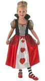 Disney: Queen of Hearts Girls Costume - (Small)