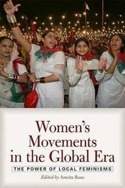 Women's Movements in the Global Era by Amrita Basu image