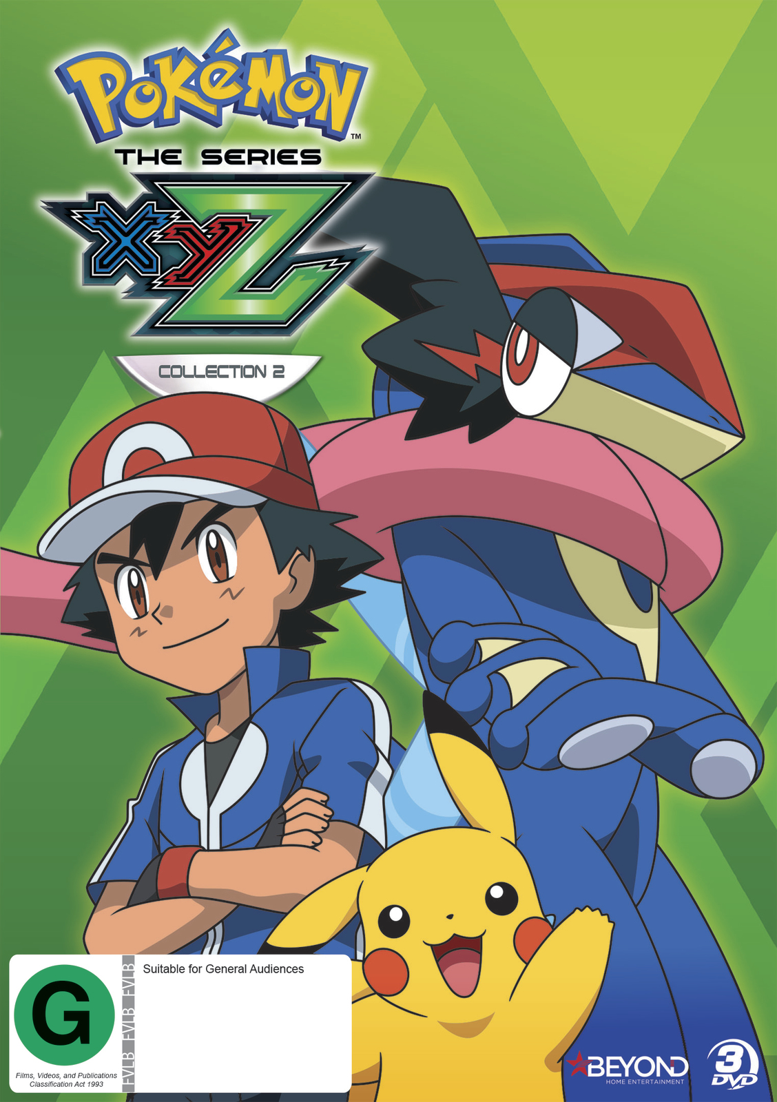 pokemon the series xyz collection 2 dvd in stock buy now