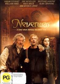 Neverwas on DVD image