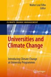 Universities and Climate Change image