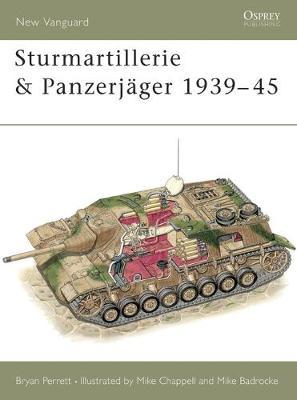 Sturmartillerie and Panzerjager by Bryan Perrett image