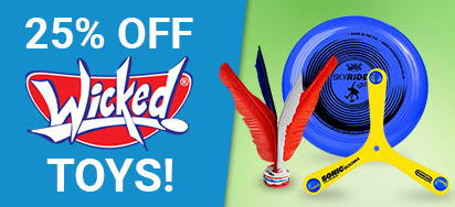 25% off Wicked Toys!