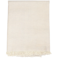 Raine & Humble Pink Manor Stripe Tablecloth