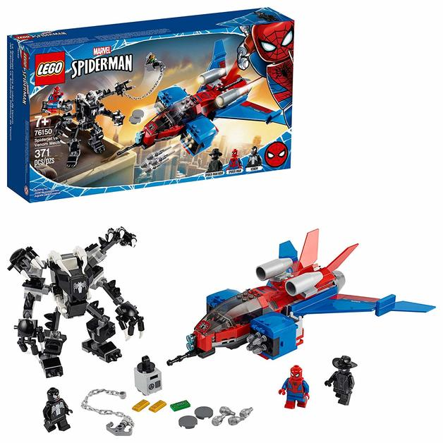 LEGO Marvel: Spiderjet vs. Venom Mech - (76150)
