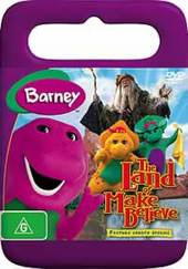 The Barney: Land Of Make Believe on DVD