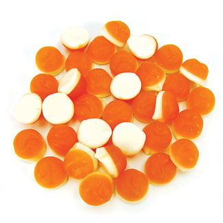 Rainbow Confectionery Peaches n Cream Lollies Bulk Bag 1kg