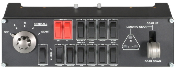 Logitech Pro Flight Switch Panel for PC
