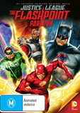 Justice League: The Flashpoint Paradox on DVD