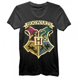 Harry Potter Hogwarts Black Tee (Large)